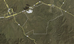 Satellite Images of Sierra la Rana